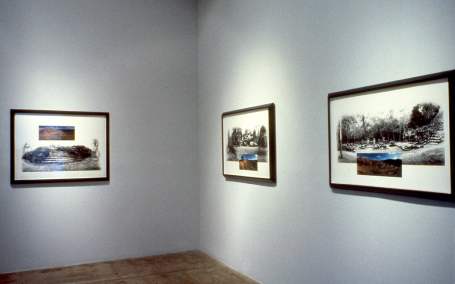 Installation - Jan Turner Gallery, Los Angeles, 1989